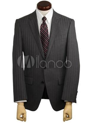 Pinstripe tuxedos wedding