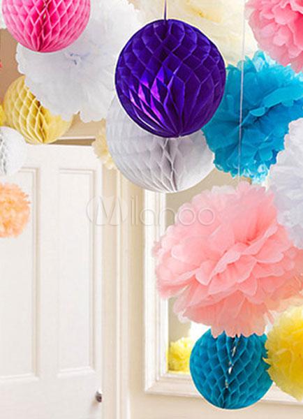 Как сделать шары соты из бумаги своими руками для украшения зала 66