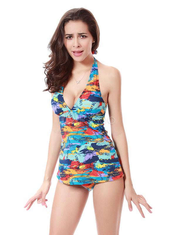 Vintage one piece swim suits
