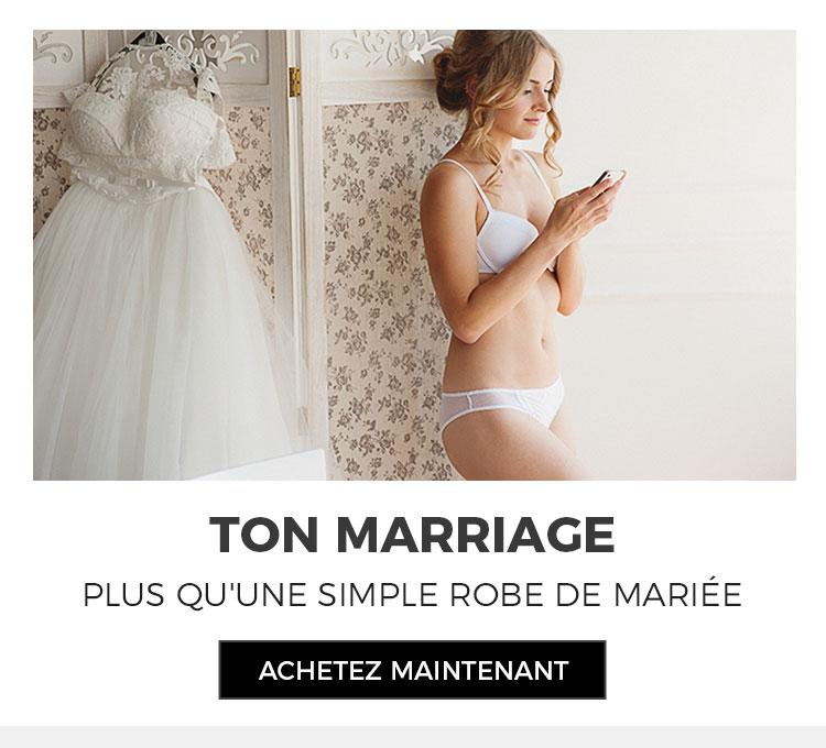 Lingeries pour mariée