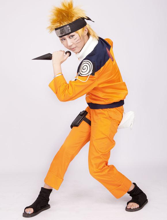 Naruto Uzumaki Animado Halloween Disfraz De Cosplay 2019