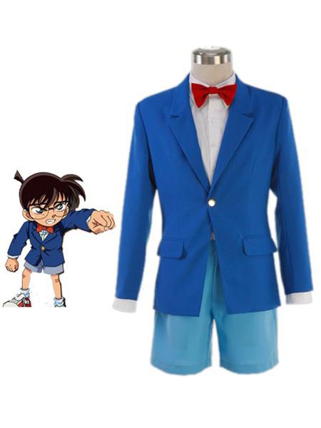 Detective Conan Case Closed Conan Edogawa Halloween Cosplay Costume School  Uniform