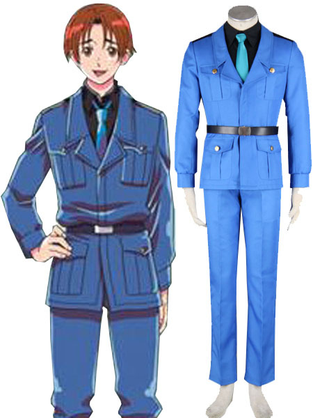 Details about  /NEW!Anime Hetalia Axis Powers England Servant Dress Cosplay Costume
