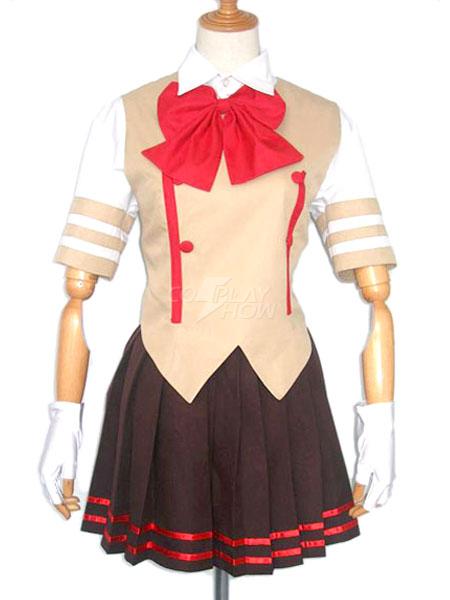 Halloween Uniforme Escolar De Haruhi Suzumiya Para Cosplay De Suzumiya Haruhi No Yūutsu Cosplayshow Com
