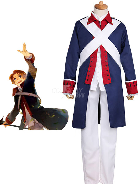 Axis Powers APH Revolutionary War Cosplay Costume Uniform!co/'s