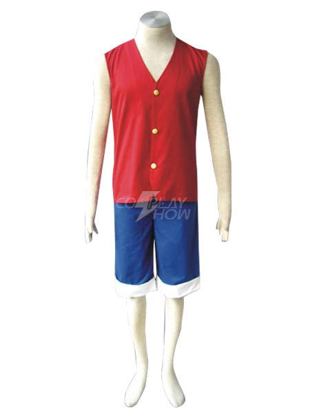One Piece Luffy Cosplay Costume Halloween Monkey D Luffy Cosplay