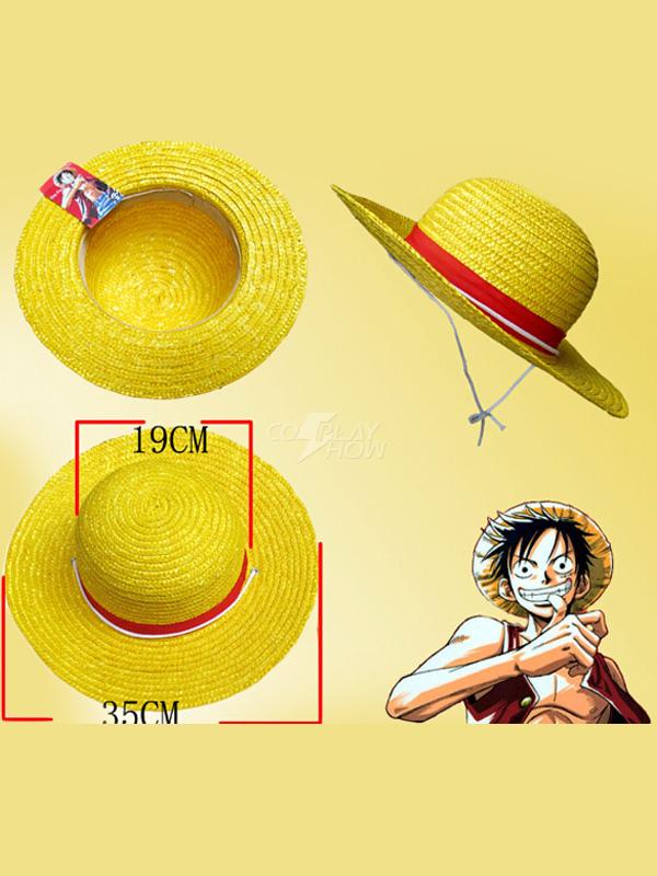 Sombrero de Luffy de One Piece - cosplayshow.com 242f13af70f