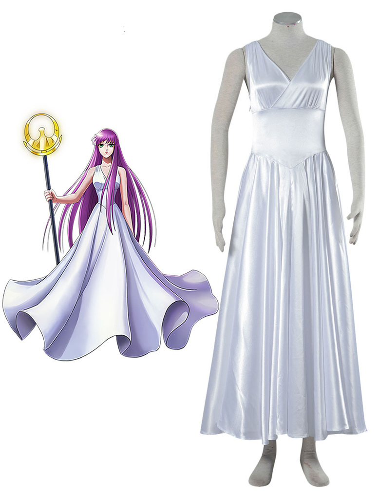 Saint Seiya: The Lost Canvas - Myth of Hades Athena Cosplay Costume