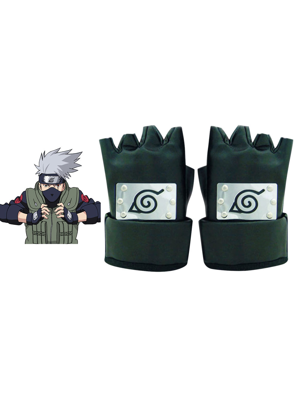 sito ufficiale vestibilità classica la vendita di scarpe Naruto Hatake Kakashi Ninja Cosplay Gloves Halloween - Cosplayshow.com