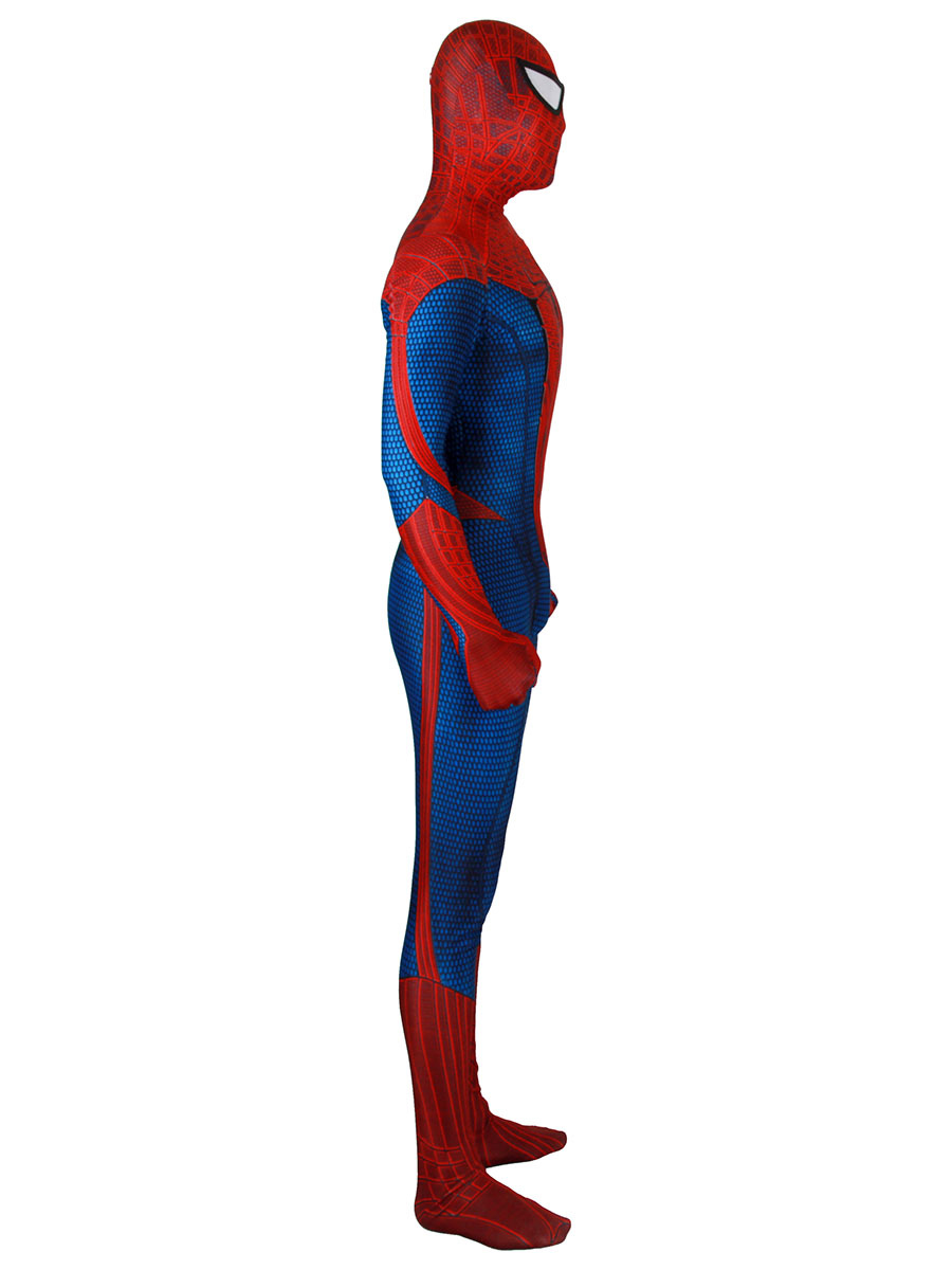 3D印刷ベン ライリースパイダーマンコスプレ衣装ライクラ ...