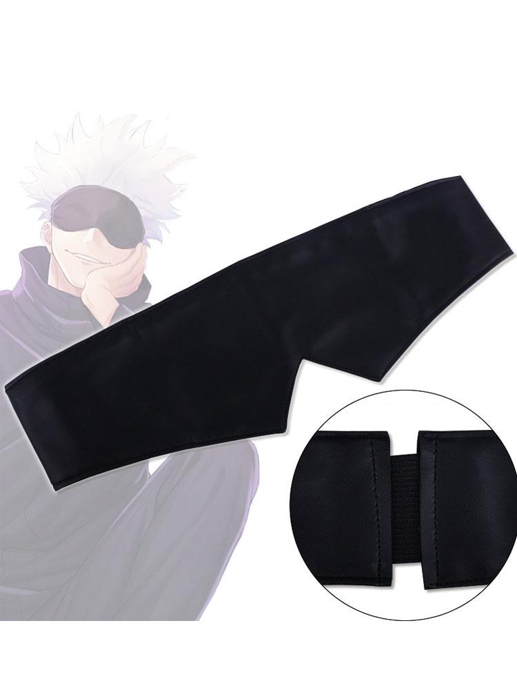 Jujutsu Kaisen Sorcery Fight Gojo Satoru Blindfold Black Eye Patch Cosplay Accessory Prop Cosplayshow Com