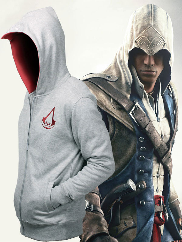 Assassin S Creed Connor Hoodie Cosplayshow Com