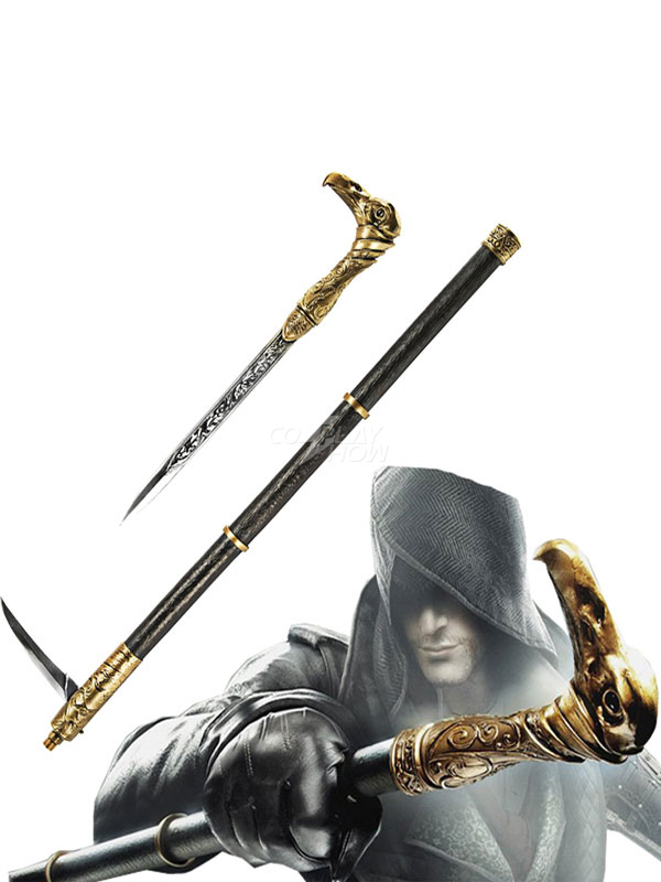 New Assassins Creed Syndicate Jacobs Cosplay Cane Sword