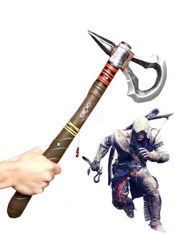Inspired By Assassin S Creed Iii Connor Pvc Tomahawk Cosplay
