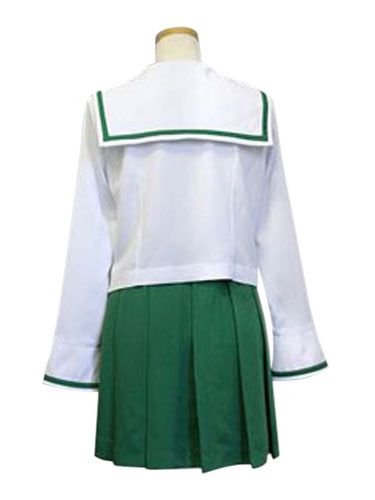 Girls und Panzer Oarai Girls High School Sailor School Uniform Cosplay Costume