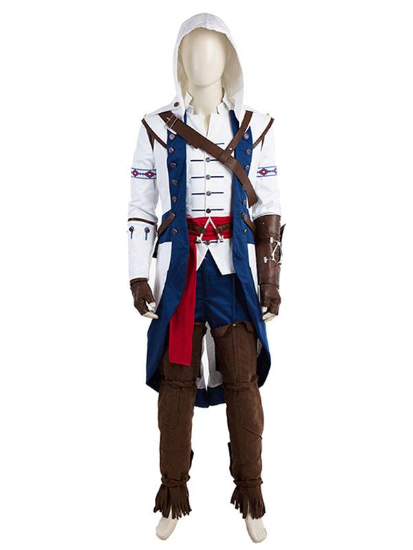 Assassin S Creed Iii Connor Halloween Cosplay Costume