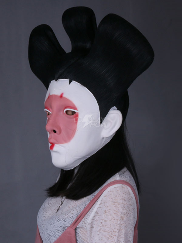 2020 Movie Ghost In The Shell Geisha Cosplay Mask Cosplayshow Com