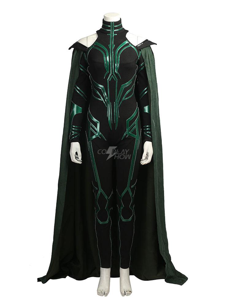2017 NEW ARRIVALThor Ragnarok Hela Cosplay Costume Halloween Costume Any Size