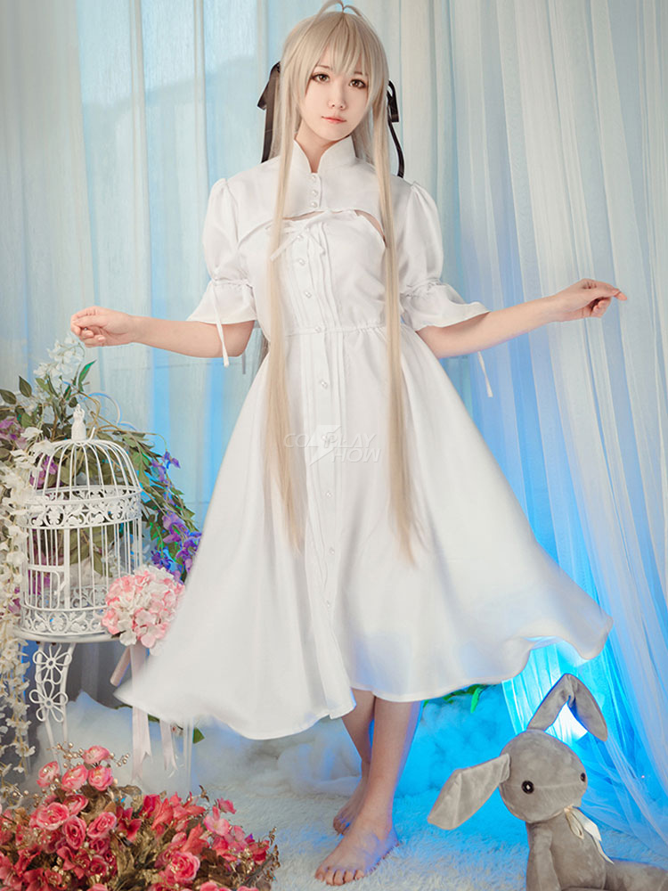 Yosuga No Sora Kasugano Kawaii Anime Girl Cosplay Costume