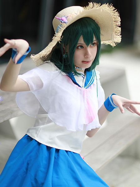 Boku No Hero Academia Tsuyu Asui Froppy School Uniform Bnha Halloween Cosplay Costume