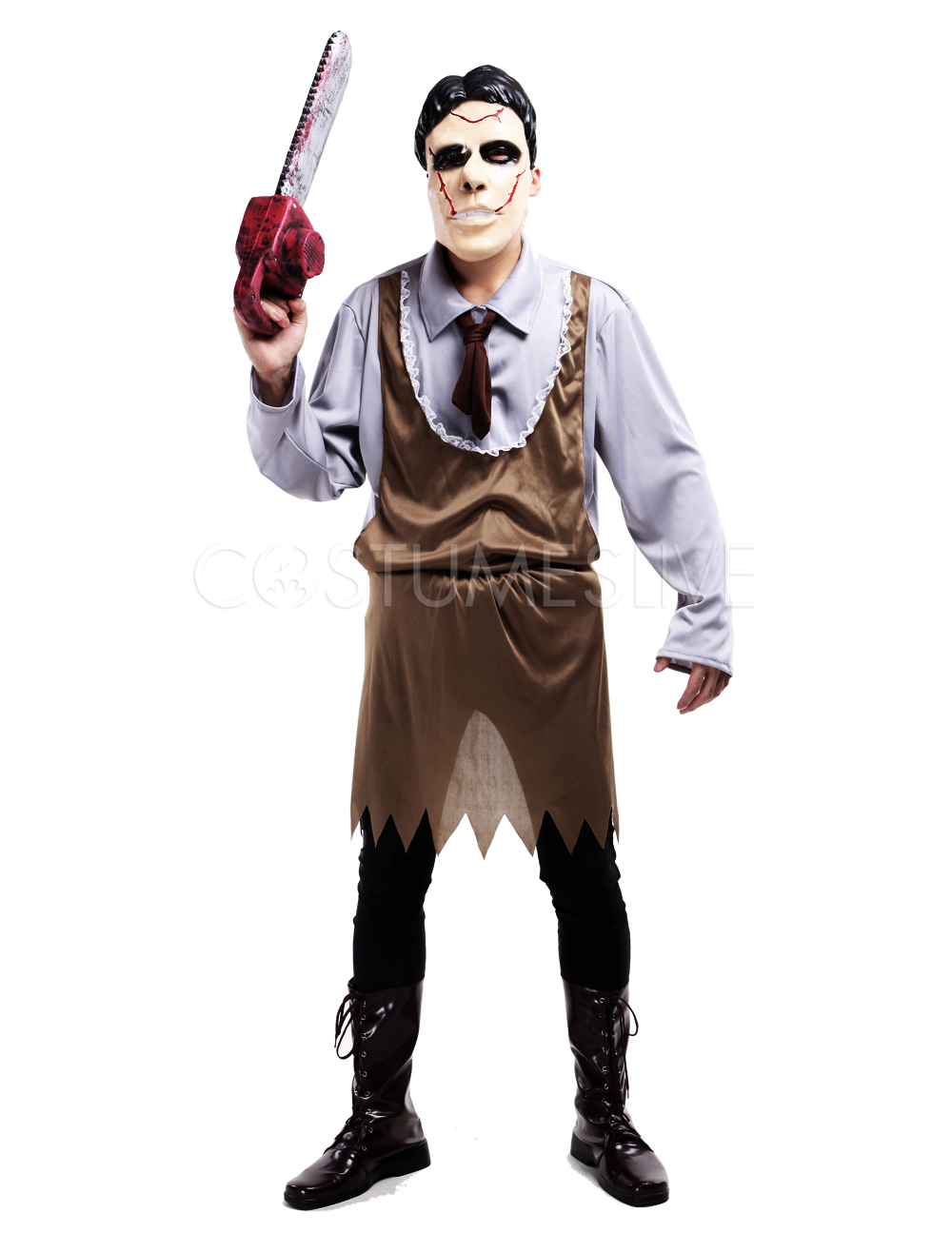 Halloween Zombie Costume Horrible Butcher Costume Cosplay - Costumeslive.com by Milanoo  sc 1 st  CostumesLive & Halloween Zombie Costume Horrible Butcher Costume Cosplay ...