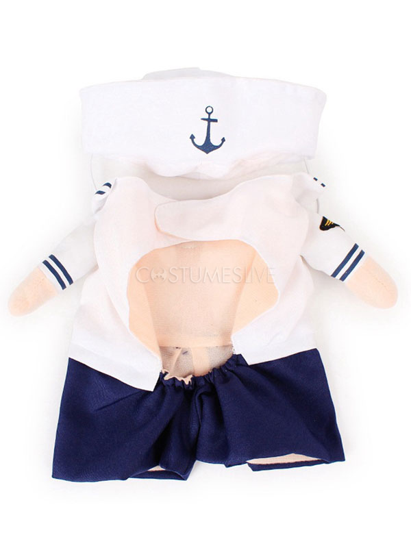 Halloween Cat Costume Navy Sailor Dog Costume ...  sc 1 st  CostumesLive & Halloween Cat Costume Navy Sailor Dog Costume - Costumeslive.com by ...