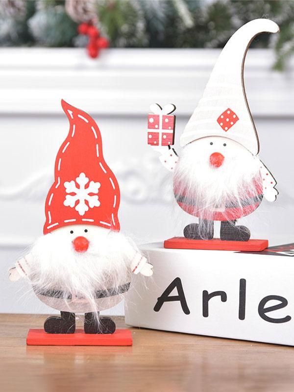 Regali Di Babbo Natale.Decorazioni Natalizie In Legno Assemblato Ornamenti Di Babbo Natale Dipinti Regali Di Natale Per Bambini Decorazione Per Finestre Costumeslive Com