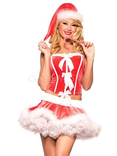 Immagini Babbo Natale Donna.Costumi Sexy Rosso Babbo Natale Donna Per Natale