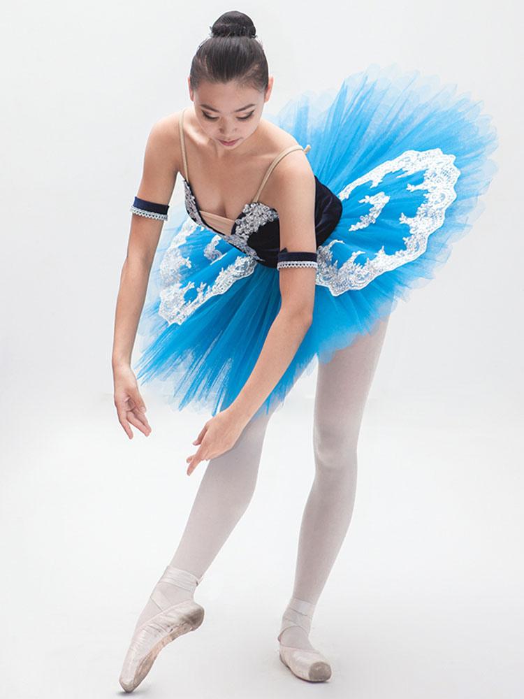 Vestido De Ballet Azul