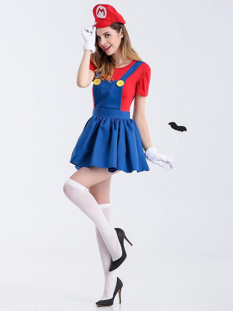 fasching kostüme damen super mario