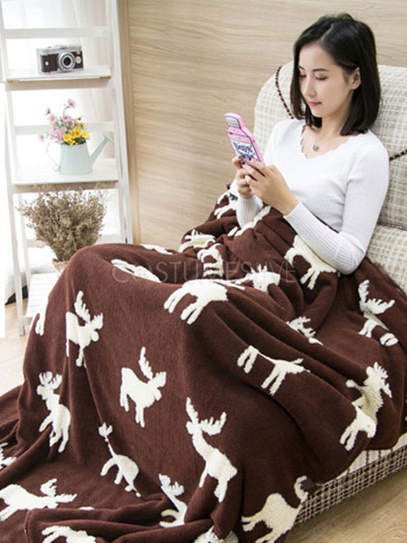 b54299acdb ... Snuggie mono pijama Navidad manga manta ropa de dormir para adulto ...