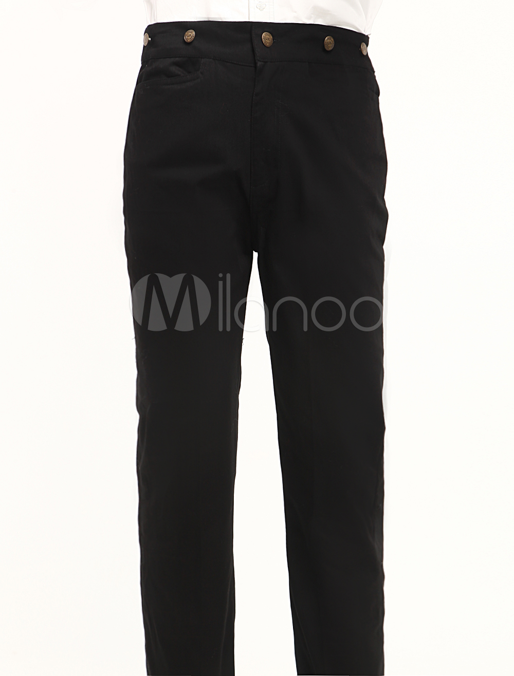 Black Steampunk Trousers