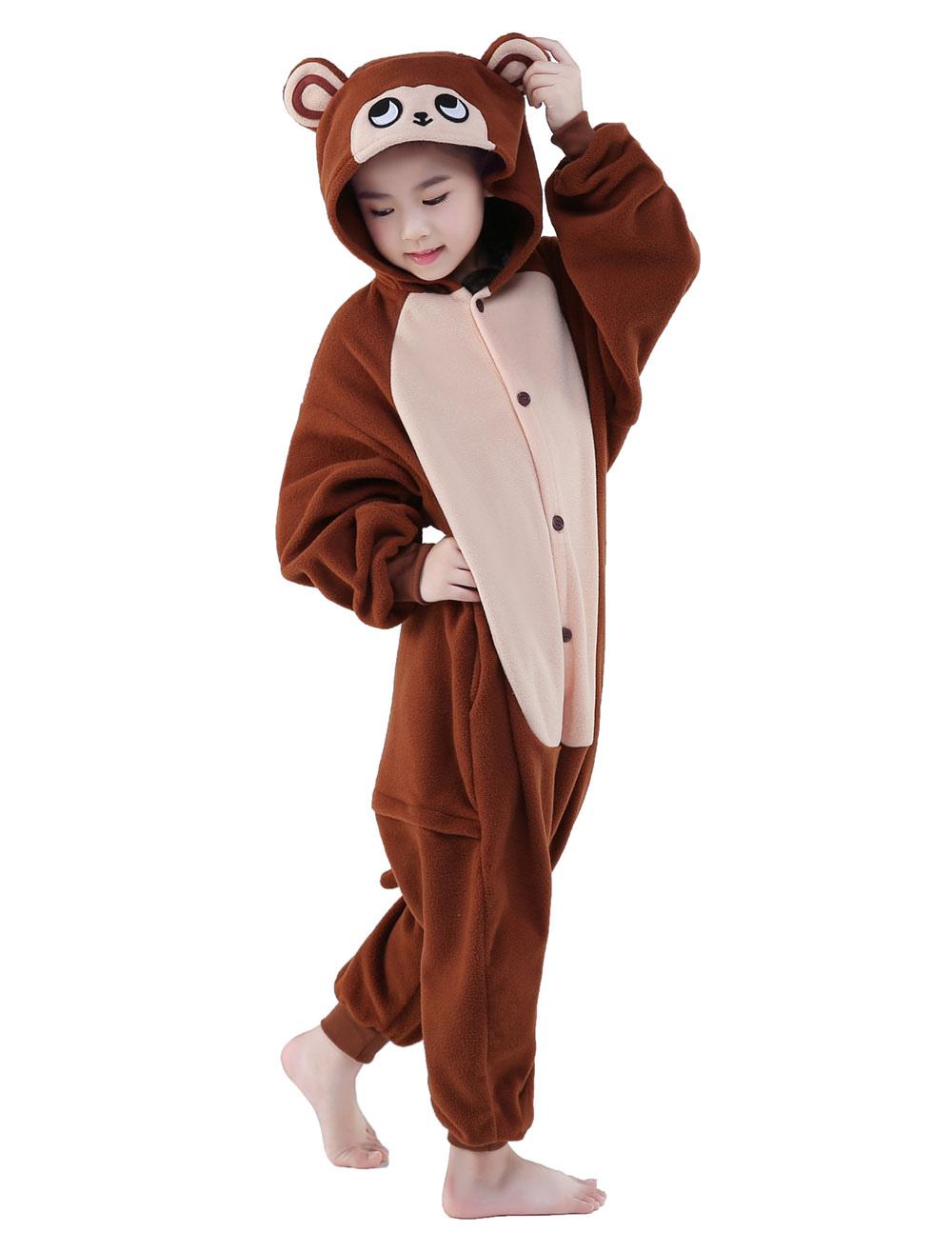 Kids Bambino Costume Da Scimmia