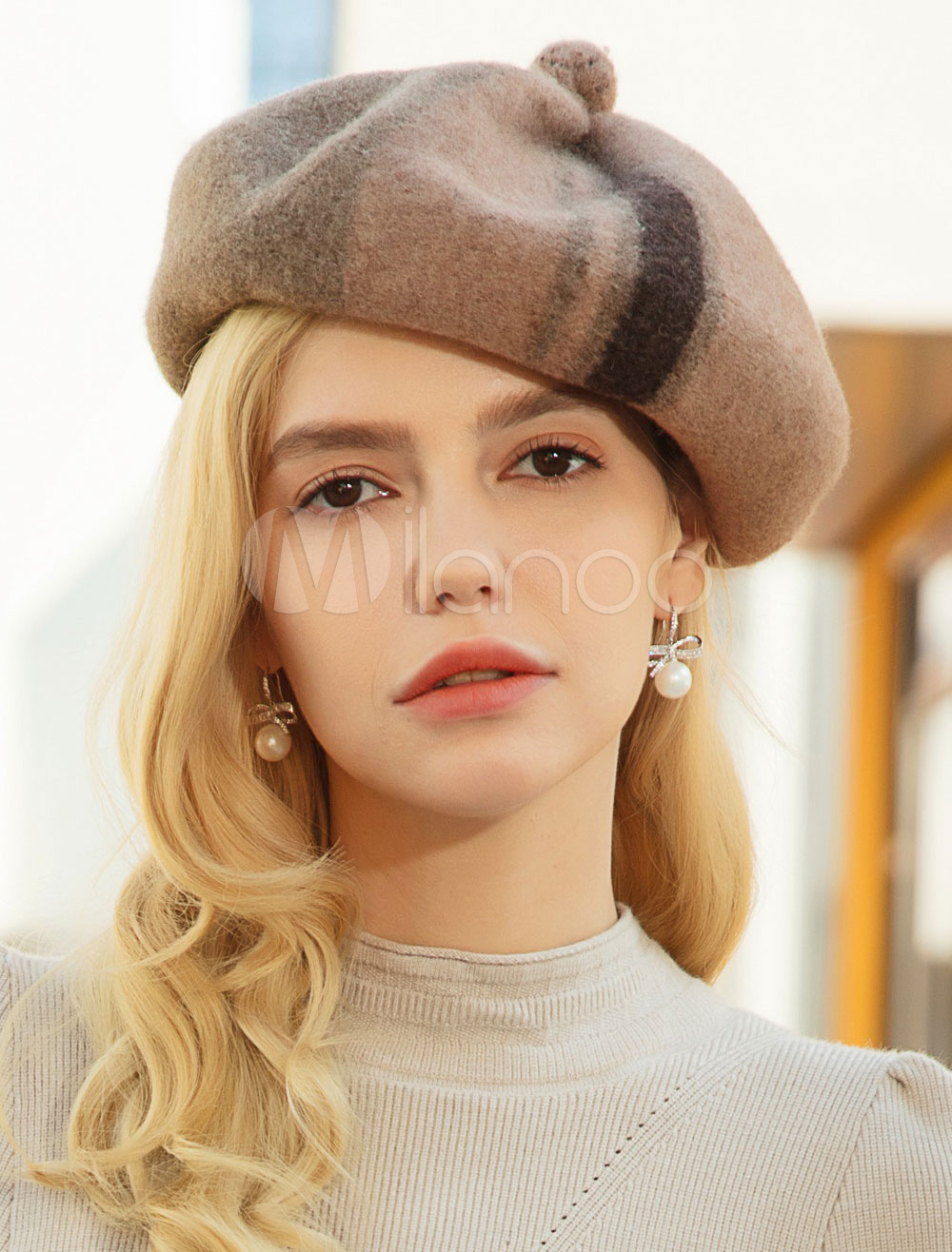 cf093a8ef Wool Beret Women French Beret For Winter