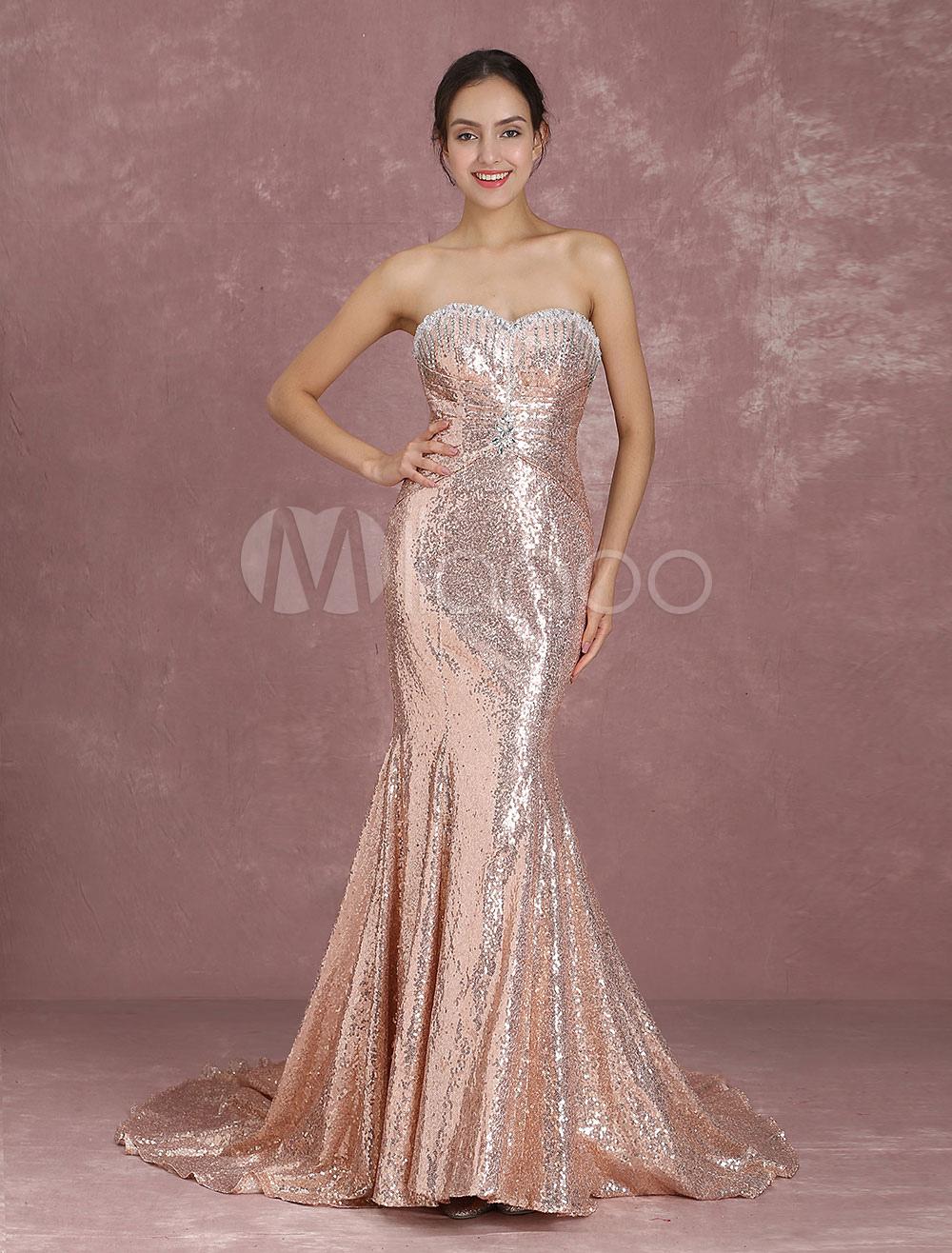 bf8b0055d Vestido de gala para festa formal Com Cauda decote V em coração sem ...