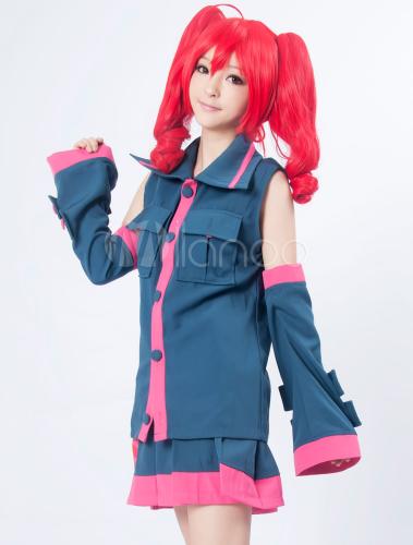 Vocaloid Kasane Teto Cosplay Costume Halloween - Milanoo.com  Vocaloid Kasane...