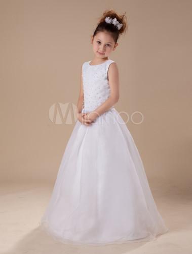 Vestidos color blanco para ninas