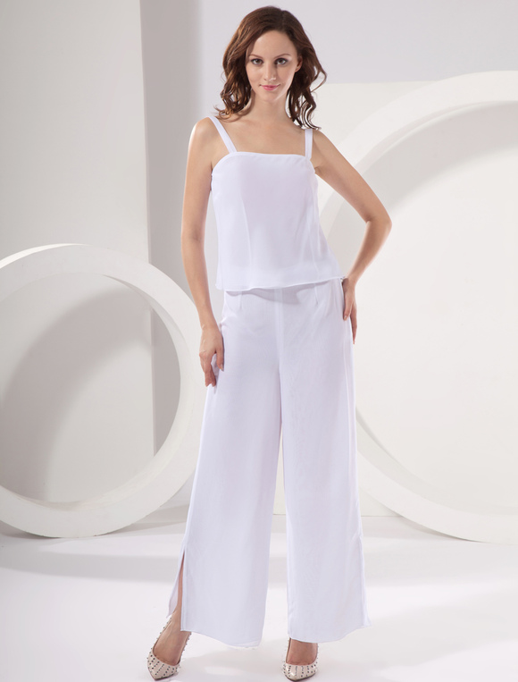 Wedding Pant Suits.Chiffon Mother Of The Bride Pant Suits Wedding Guest Dress