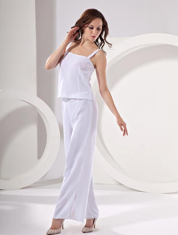Chiffon Mother Of The Bride Pant Suits Wedding Guest Dress - Milanoo.com