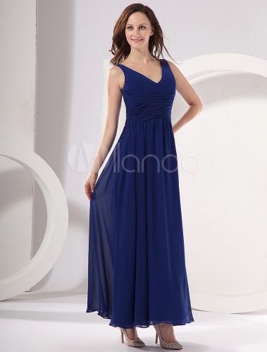 Fotos de vestidos de noche en color azul