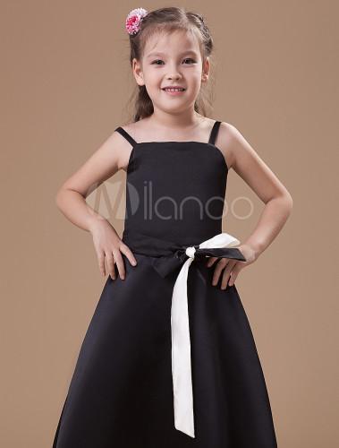 Black Junior Bridesmaid Dresses