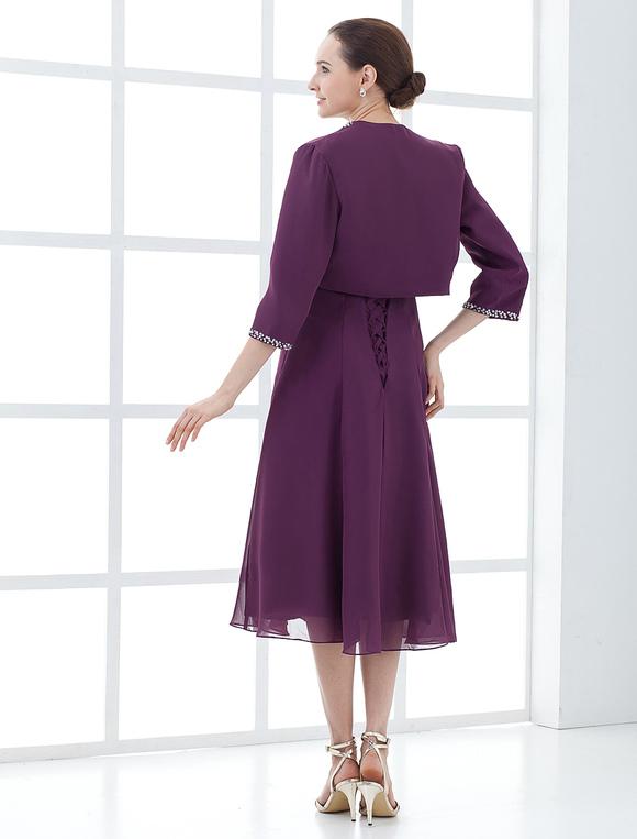 7f52cffdc675 ... Abbigliamento per la madre della sposa in satin a pieghe Abiti per  Ospiti di Matrimonio- ...