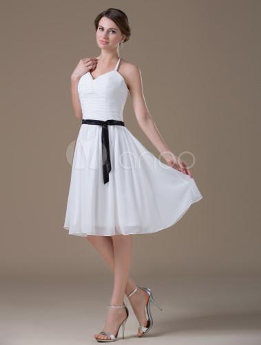 e441be362 Vestido blanco para dama – Vestidos de boda