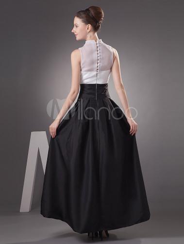 Vestido de fiesta tela tafeta