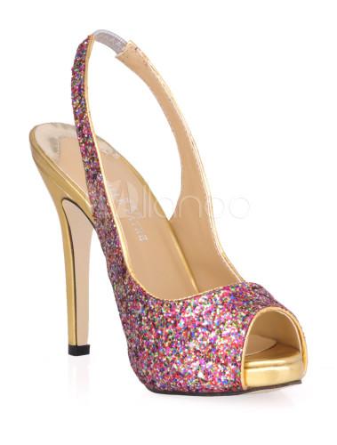 Zapatos de tela brillante de moda 78LrSnV