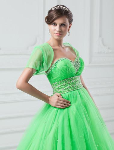 Treffen d238d 9f0ec Kleid aus Tüll Neon-Grün