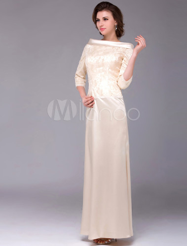 champagne sheath charming dress for mother of the bride