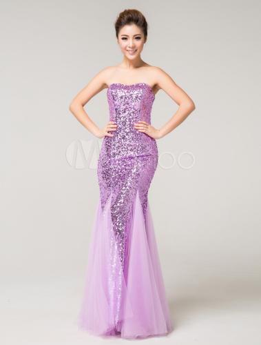 Vestidos para fiesta color lila