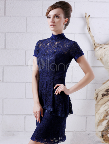 Dark Navy Cocktail Dress