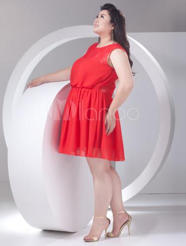 Vestito cerimonia rosso scollato schiena